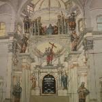 Picture inside chapel