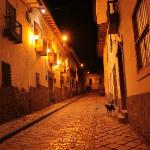 Calle Ceniza donde se encuentra el Hostel