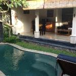 One bed villa-swimming pool