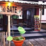 Sate place I found in Denpasar