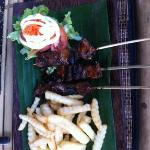 The best pork Sate I have had in Indonesia.