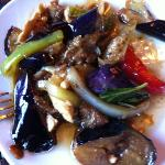 meat with eggplant