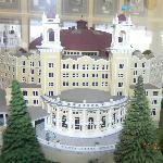 model of West Baden Springs