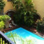 pool from room 108