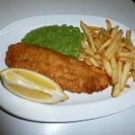 Grimsby Cod, Chips and Mushy peas