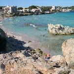Son Moll (un'altra spiaggia vicina all'hotel)