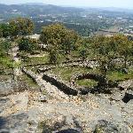 View from high point Citania de Briteiros