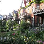 Jardin et maison