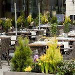 Terrasse de la Brasserie Plëss
