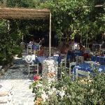 Idyllic taverna by the sea