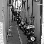 Motorbike atmosphere street