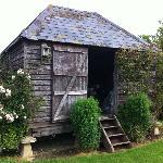 beautiful garden shed