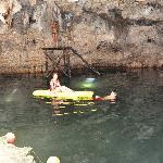 swimming @ cenote