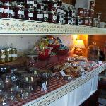 Homemade treats and jellies  at the Pie Shack... YUMMY!