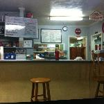 Blue Ridge Diner counter