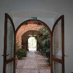 Sicht zum Innenhof