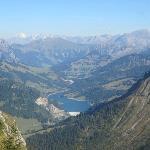 View from the Alpine Garden