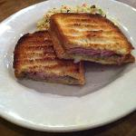 Cuban panini and chilled couscous