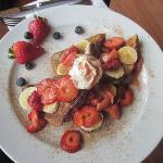 Strawberry & Banana French Toast