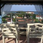 Panorama dal terrazzo, ultimo piano