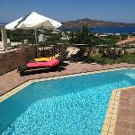 panoramic view from pool