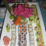 """Le magnifique travail de """"Mike"""" le maitre sushi"""