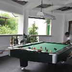 Billiards.. father vs the son :)