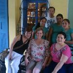 Rina & her staff