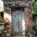 Wooden doors (not Kamboja room)