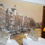 Netherland scenery picture in the room