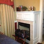 Wellington Room Fireplace View