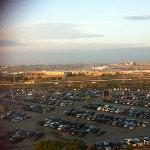 Morning airport view from room 1108