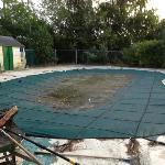 voici la magnifique piscine