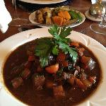 Local Venison in a Red Wine Jus