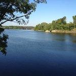 Androscoggin River from the restaurant