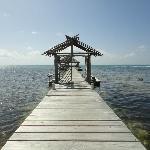 Pier to do yoga/swim from