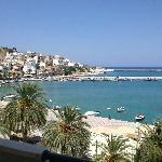 utsikt fra rom 302, Itanos, Siteia