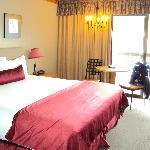 comfortable room, great views