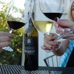Wine always tastes better with friends!