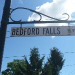 This is the real Bedford Falls!