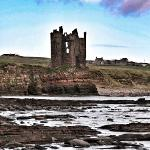 keiss Castle near Wick, great coastline