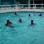 havin fun by de pool !!!!