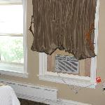 Window Unit A/C & Curtains