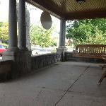 Wonderful front porch