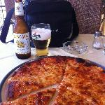 Davinci pizza + beer