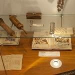 Articles on display