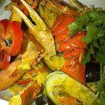 Savoury Seafood Paella