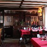 """Restaurant """"Bauernstube"""" auf Burg Liebenstein"""