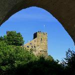 Blick auf Burg Liebenstein