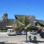 Beach infrastructure bar/restaurant